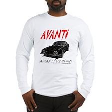 Avanti-Ahead of its Time- Long Sleeve T-Shirt