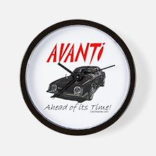 Avanti-Ahead of its Time- Wall Clock