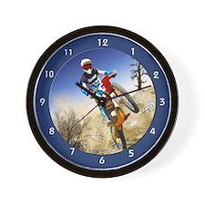Cute Dirtbikes Wall Clock