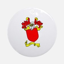 ROSSI 2 Coat of Arms Ornament (Round)