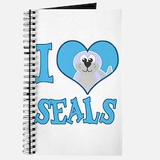 I Love (Heart) Seals Journal