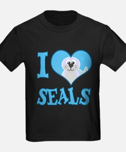 I Love (Heart) Seals T