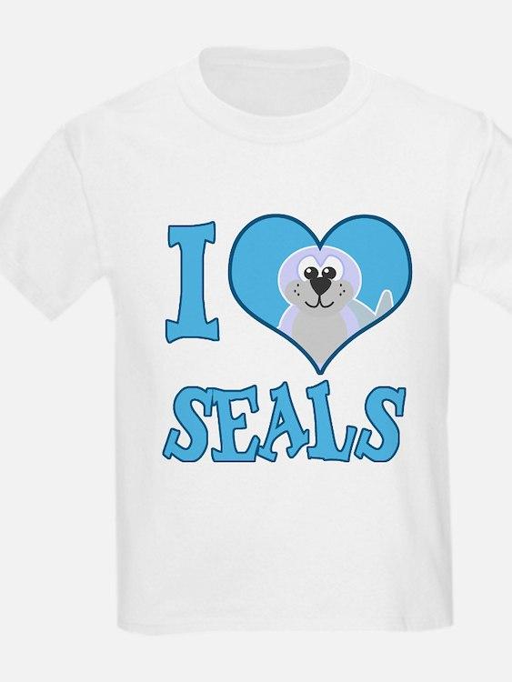 I Love (Heart) Seals T-Shirt