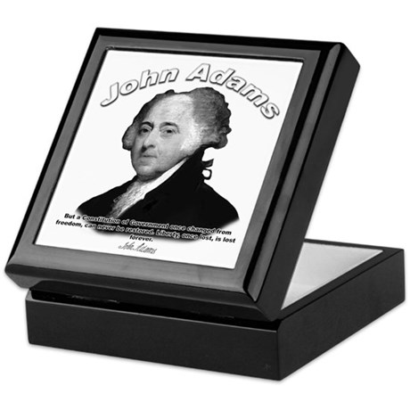 John Adams 04 Keepsake Box