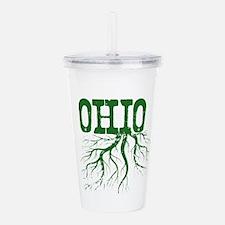 Ohio Roots Acrylic Double-wall Tumbler