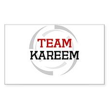 Kareem Rectangle Decal