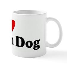 I Love Peyton Dog Mug