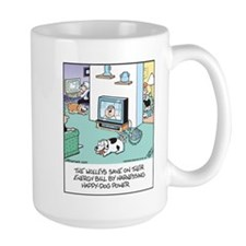 Dog Wind Power Mug