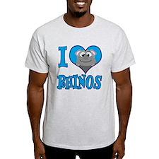 I Love (Heart) Rhinos T-Shirt