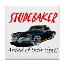 Studebaker-Ahead of Their Time- Tile Coaster