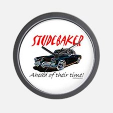 Studebaker-Ahead of Their Time- Wall Clock