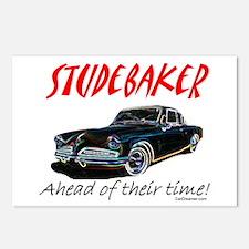 Studebaker-Ahead of Their Time- Postcards (Package