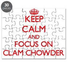 Cute Clam chowder Puzzle