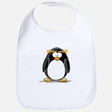 Macaroni Penguin Bib