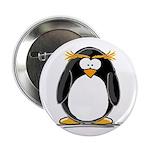 Macaroni Penguin Button