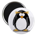 Macaroni Penguin Magnet