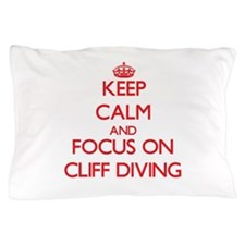 Calm dive Pillow Case