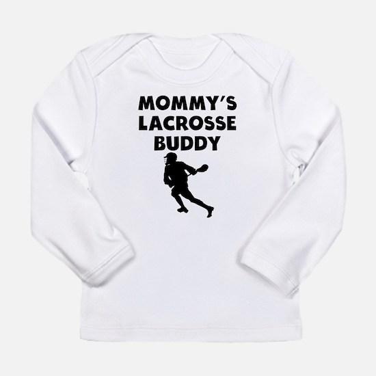 Mommys Lacrosse Buddy Long Sleeve T-Shirt