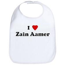 I Love Zain Aamer Bib