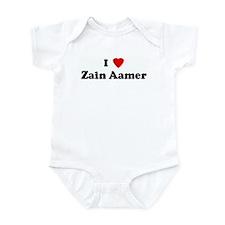 I Love Zain Aamer Infant Bodysuit