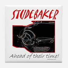 Studebaker-Ahead of Their Time- Tile Coaster
