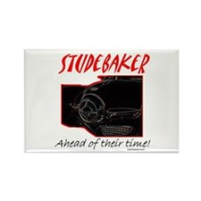 Studebaker-Ahead of Their Time- Rectangle Magnet