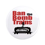 "Ban The Bomb Trains 3.5"" Button"