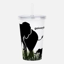 Elephant Lover Acrylic Double-wall Tumbler