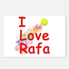 I Love Rafa Postcards (Package of 8)