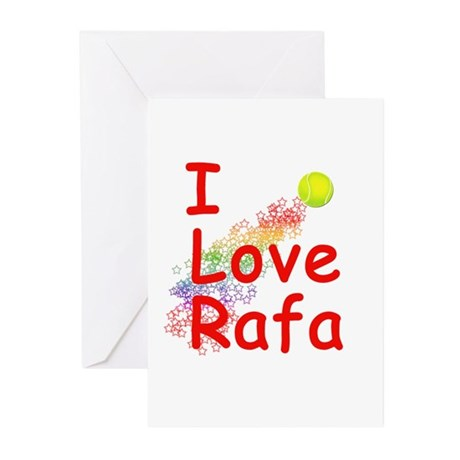 I Love Rafa Greeting Cards (Pk of 10)