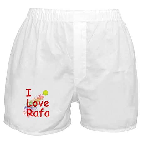 I Love Rafa Boxer Shorts