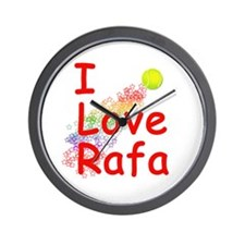 I Love Rafa Wall Clock
