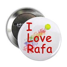 I Love Rafa Button