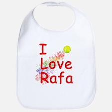 I Love Rafa Bib