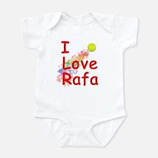 I Love Rafa Onesie
