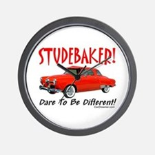 Studebaker-Dare to be Diff Wall Clock