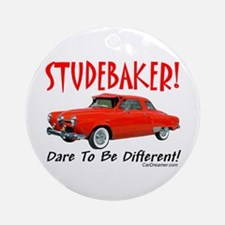 Studebaker-Dare to be Diff Ornament (Round)