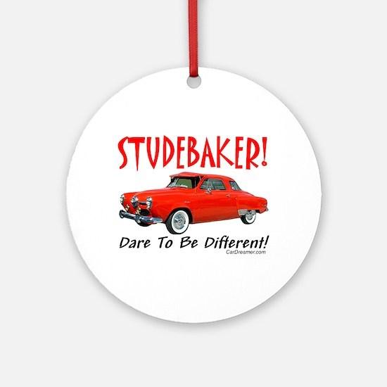 Studebaker-Dare to be Diff Ornament (Round)