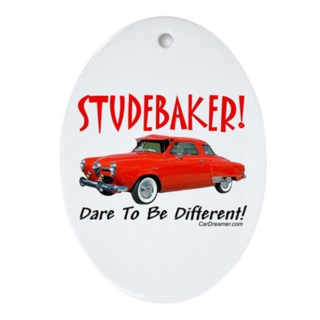Studebaker-Dare to be Diff Oval Ornament