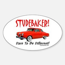 Studebaker-Dare to be Diff Oval Decal