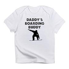 Daddys Boarding Buddy Infant T-Shirt