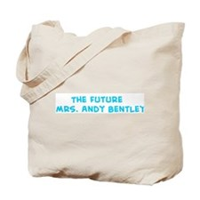 The Future    Mrs. Andy Bentl Tote Bag