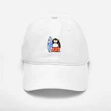 Surfing Macaroni Penguin Baseball Baseball Cap