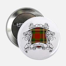 """MacGill Tartan Shield 2.25"""" Button"""