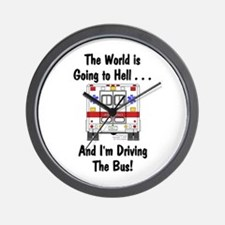 Going To Hell... Wall Clock