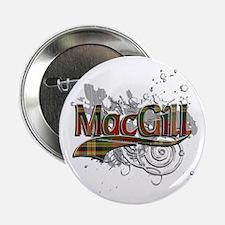 "MacGill Tartan Grunge 2.25"" Button"