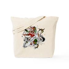 MacGill Tartan Lion Tote Bag