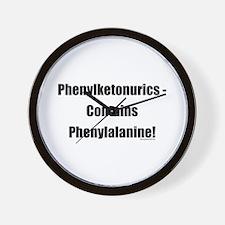 Phenylalanine Wall Clock