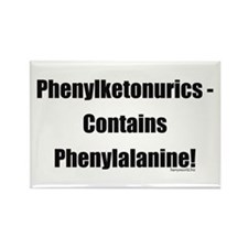 Phenylalanine Rectangle Magnet (10 pack)