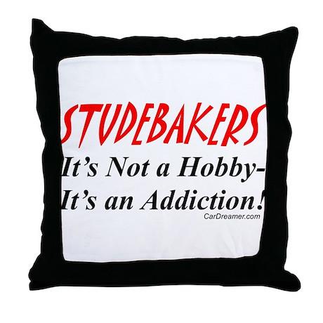 Studebaker Addiction Throw Pillow